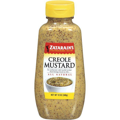 Zatarain's Creole Mustard 12 Oz (Pack of 6)