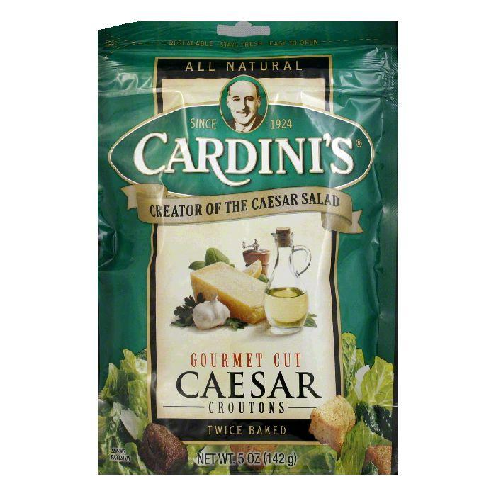 Cardini Croutons Caesar Gourmet Cut, 5 OZ (Pack of 12)