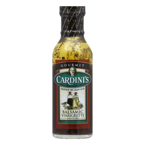 Cardini Dressing Balsamic Vinaigrette, 12 OZ (Pack of 6)