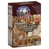 Hodgson Mill Premium Steel Cut Oats, 18 Oz (Pack of 6)