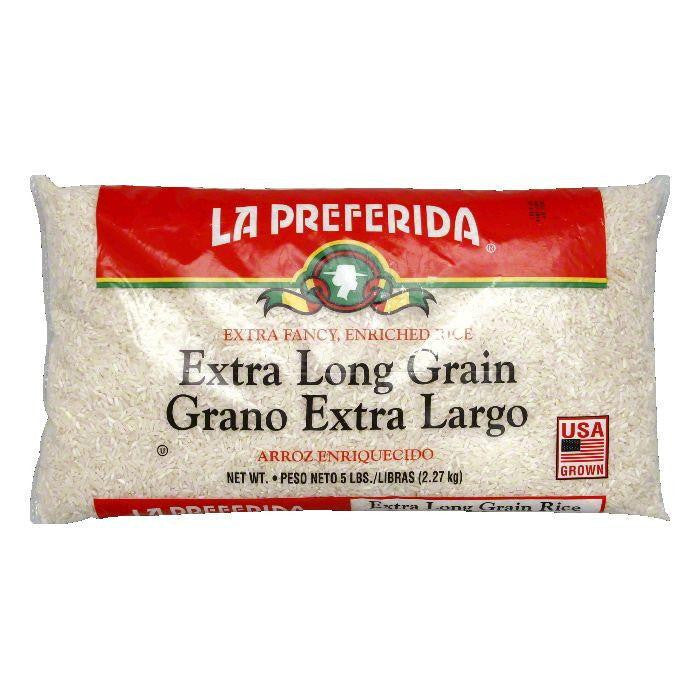 La Preferida Rice Long Grain, 5 LB (Pack of 6)