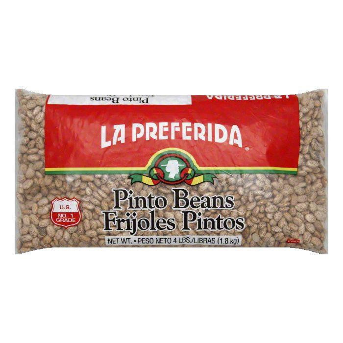 La Preferida Pinto Beans, 4 LB (Pack of 6)