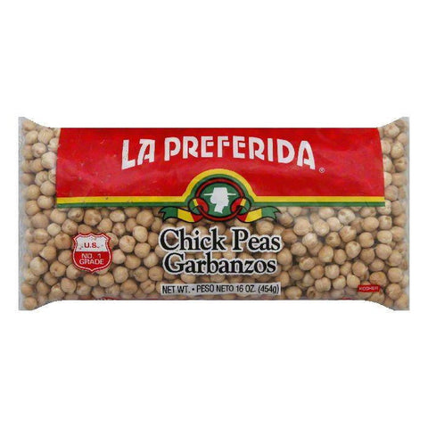 La Preferida Chick Peas, 16 OZ (Pack of 24)