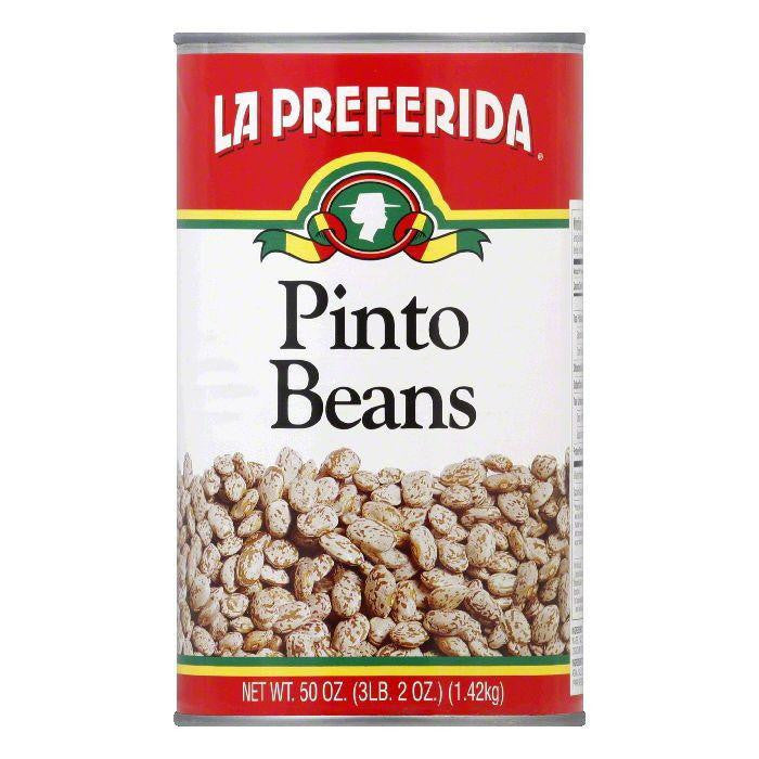 La Preferida Pinto Beans, 50 OZ (Pack of 12)