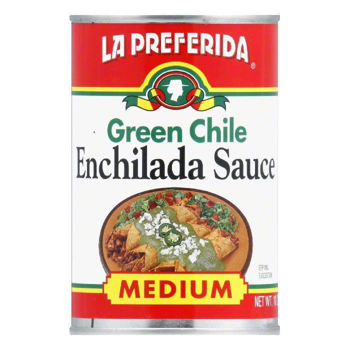 La Preferida Sauce Green Chile Enchilada, 10 OZ (Pack of 12)