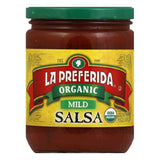 La Preferida Salsa Mild Organic, 16 OZ (Pack of 12)