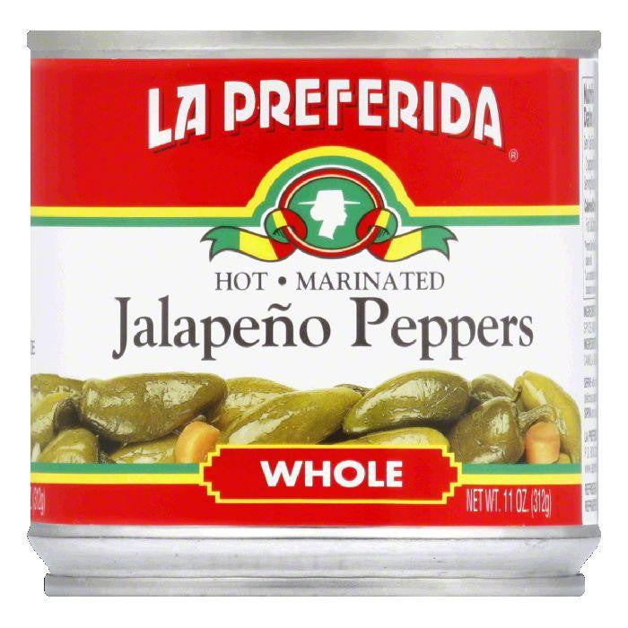 La Preferida Chiles Jalapenos Whole, 11 OZ (Pack of 12)