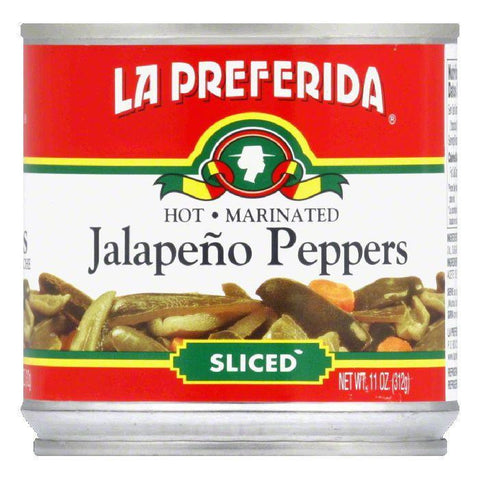 La Preferida Chiles Jalapenos Sliced, 11 OZ (Pack of 12)