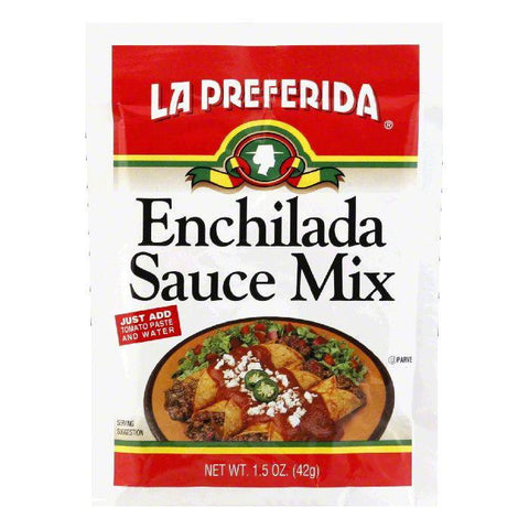 La Preferida Sauce Mix Enchilada, 1.5 OZ (Pack of 24)