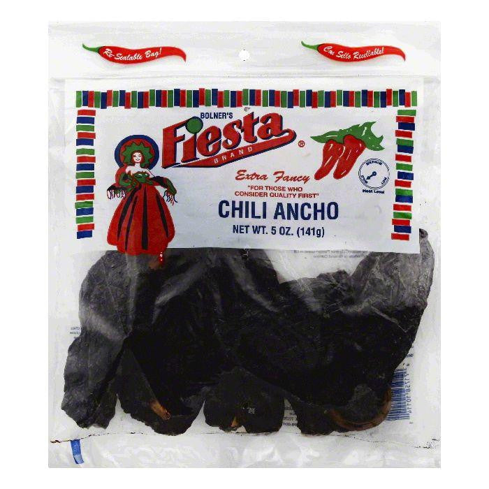 Fiesta Mild Chili Ancho, 5 OZ (Pack of 12)