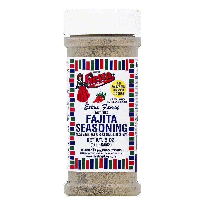 Fiesta Extra Fancy Salt Free Fajita Seasoning, 5 OZ (Pack of 6)