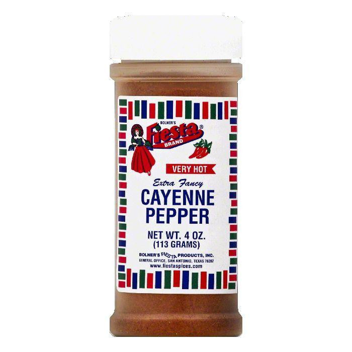 Fiesta Very Hot Extra Fancy Cayenne Pepper, 4 OZ (Pack of 6)