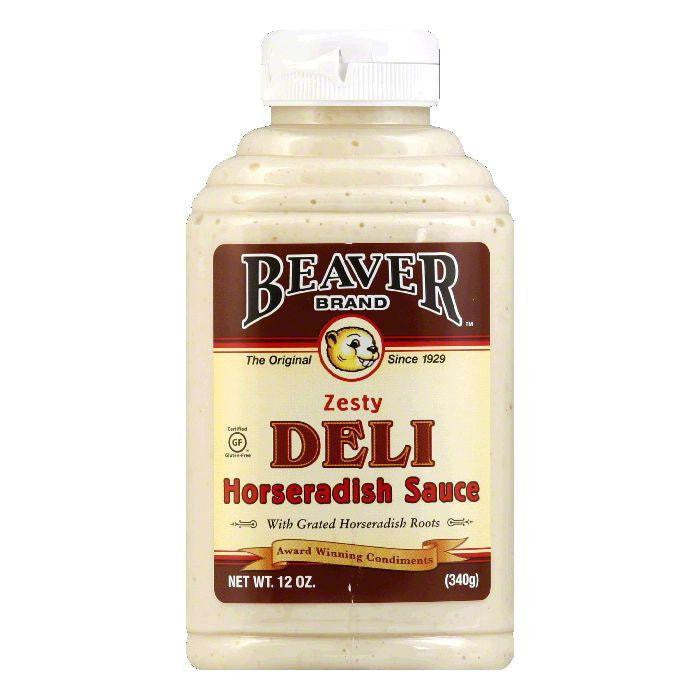 Beaver Deli Horseradish, 12 OZ (Pack of 6)