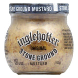 Inglehoffer Stone Ground Mustard, 4 OZ (Pack of 12)