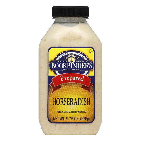 Bookbinders Prepared Horseradish, 9.75 OZ (Pack of 9)