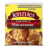 Jennies Coconut Macaroons, 8 OZ (Pack of 6)