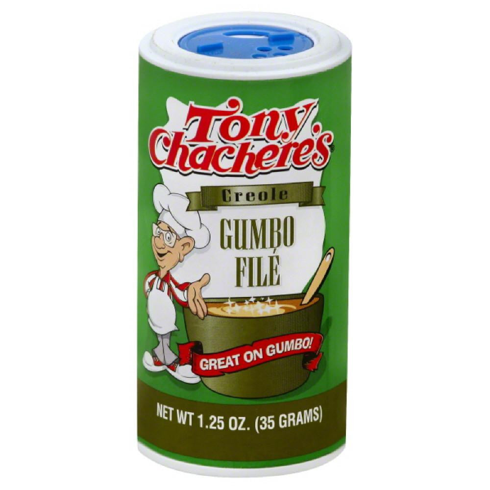 Tony Chacheres Creole Gumbo File, 1.25 Oz (Pack of 6)