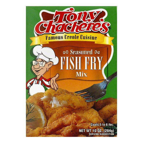 Tony Chachere's Seasoned Fish Fry, 10 OZ (Pack of 12)