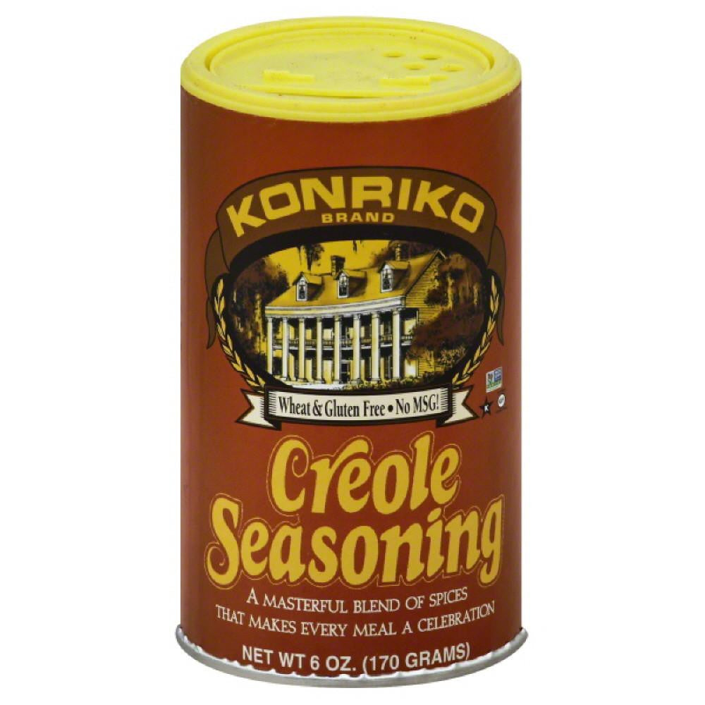 Konriko Creole Seasoning, 6 Oz (Pack of 6)