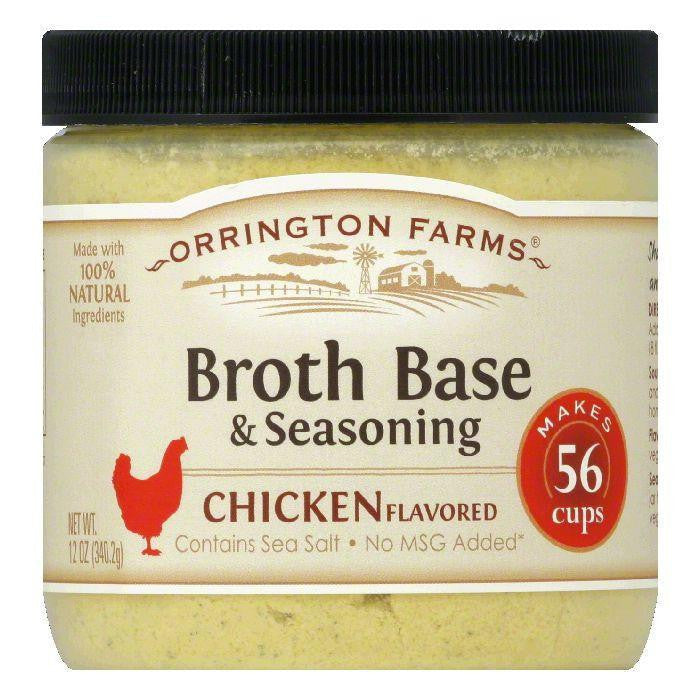 Orrington Farms Chicken Flavor Granular Base, 12 OZ (Pack of 6)