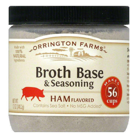 Orrington Farms Ham Flavor Granular Base, 12 OZ (Pack of 6)