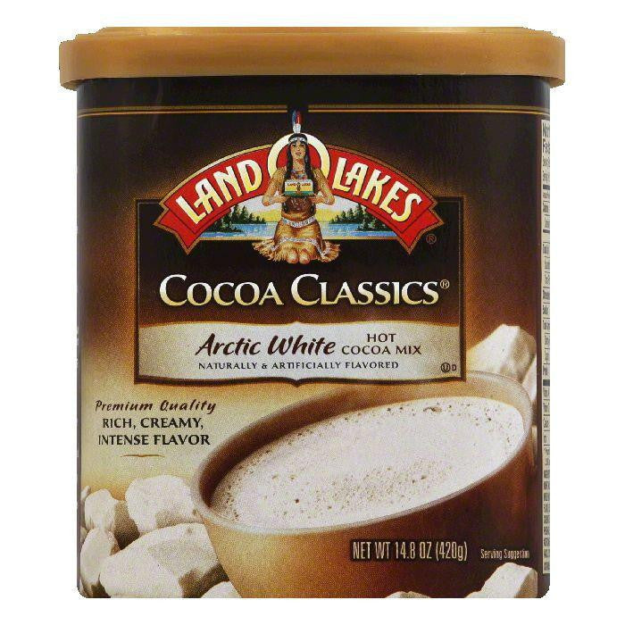 Land O Lakes Arctic White Hot Cocoa Mix, 14.8 Oz (Pack of 6)