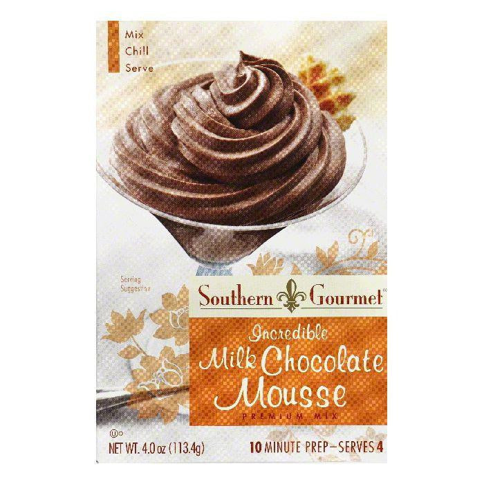 Southern Gourmet Incredible Milk Chocolate Premium Mousse Mix, 4 Oz (Pack of 6)