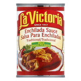 La Victoria Red Enchilada Sauce Traditional - Mild, 10 OZ (Pack of 12)