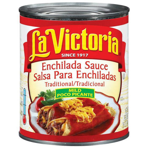 La Victoria Mild Traditional Enchilada Sauce 28 Oz (Pack of 12)