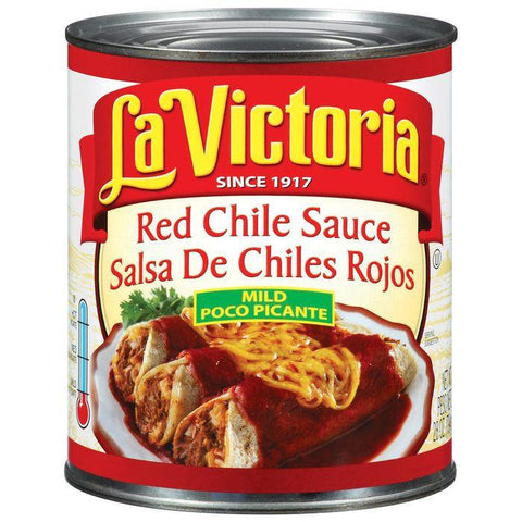 La Victoria Mild Red Chile Sauce 28 Oz (Pack of 6)