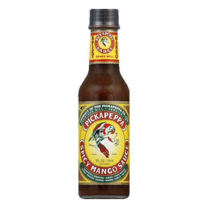 Pickapeppa Mango Spicy Sauce, 5 OZ (Pack of 6)