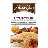 Near East Roasted Garlic & Olive Oil Couscous Mix 5.8 Oz  (Pack of 12)