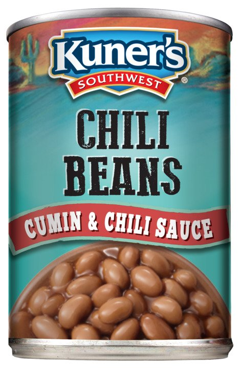 Kuner's Southwest Chili Beans, 15oz (Pack of 12)