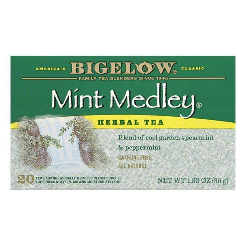 Bigelow Mint Medley Tea, 20 BG (Pack of 6)