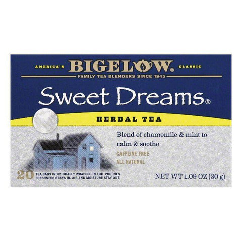 Bigelow Sweet Dreams Tea, 20 BG (Pack of 6)