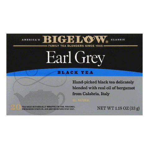 Bigelow Earl Grey, 20 BG (Pack of 6)