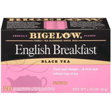 Bigelow English Breakfast Black Tea Blend 20 ct (Pack of 6)