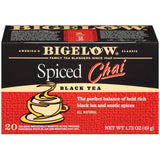 Bigelow Spiced Chai Black Tea Blend 20 ct (Pack of 6)