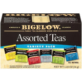 Bigelow Assorted Teas Variety Pack 1.10 Oz  (Pack of 6)