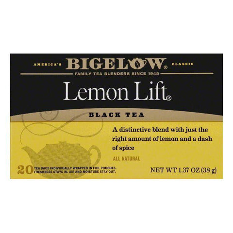 Bigelow Lemon Lift, 20 BG (Pack of 6)