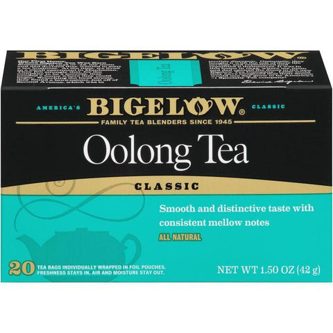 Bigelow Classic Oolong Tea 20 ct. (Pack of 6)