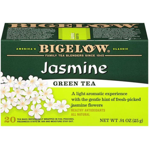 Bigelow Jasmine Green Tea 0.91 Oz (Pack of 6)