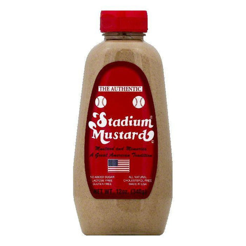 Stadium Mustard Mustard, 12 OZ (Pack of 12)