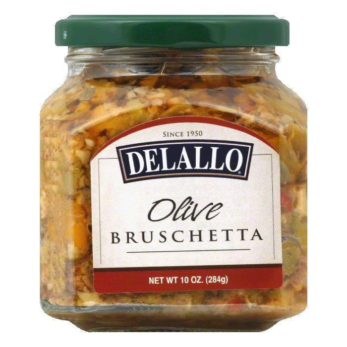 DeLallo Olive Bruschetta, 10 OZ (Pack of 6)