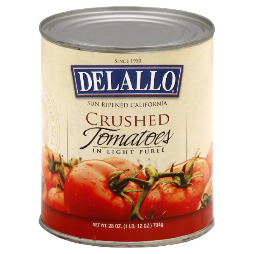 DeLallo Crushed Tomatoes in Light Puree, 28 Oz (Pack of 12)
