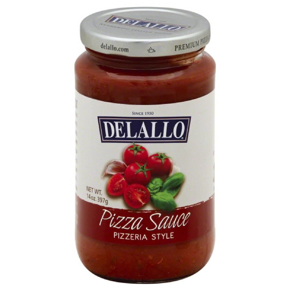 DeLallo Pizzeria Style Premium Pizza Sauce, 14 Oz (Pack of 12)