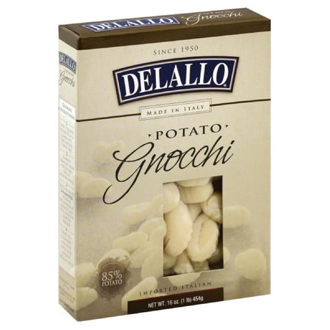 DeLallo Potato Gnocchi, 16 Oz (Pack of 12)