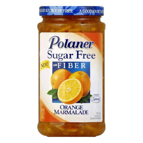 Polaner Orange Marmalade Sugar Free, 13.5 OZ (Pack of 12)