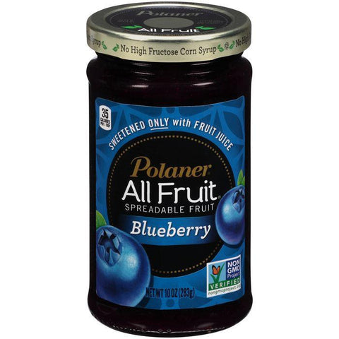 Polaner All Fruit Blueberry Spreadable Fruit 10 Oz (Pack of 12)