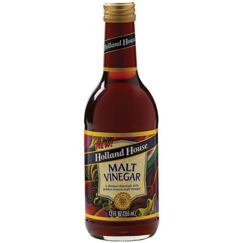 Holland House Malt Vinegar 12 Oz  (Pack of 6)